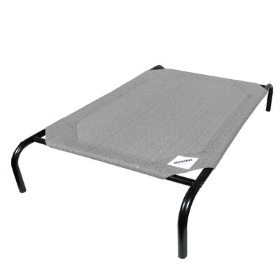 Elevated Indoor/Outdoor Pet Cot for Small Breeds Color: Gray