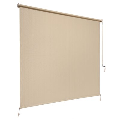 80% UV Block Outdoor Roller Solar Shade Size: 72 W x 72 L