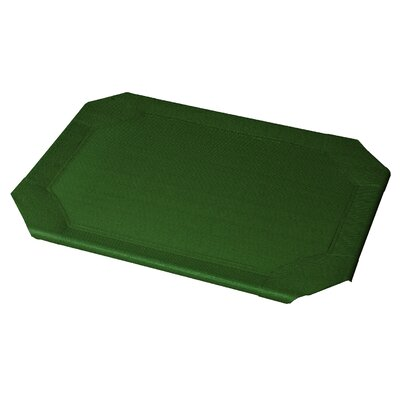 Replacement Pet Bed Covers for Elevated Pet Bed Color: Heritage Green, Size: Small