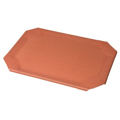 Replacement Pet Bed Covers for Elevated Pet Bed Color: Terracotta, Size: Large