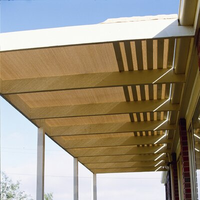 Room Darkening Outdoor Solar Shade Color: Wheat