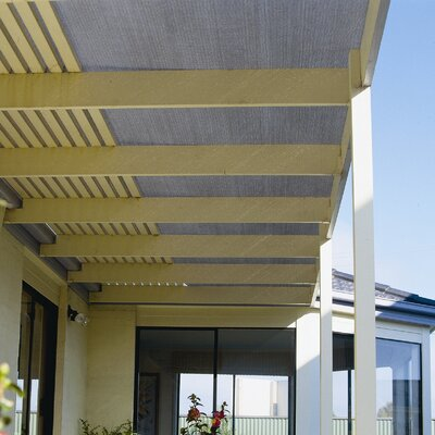 Room Darkening Outdoor Solar Shade Color: Grey