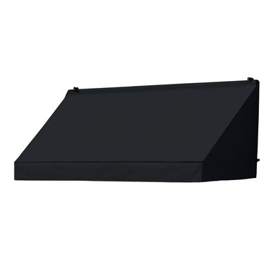 "Coolaroo Classic Awning Replacement Cover - Size: 72"" W x 25"" D, Color: Ebony"