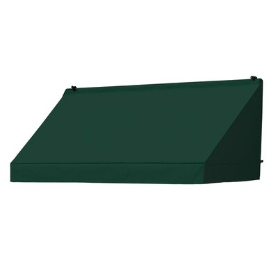 "Coolaroo Classic Awning Replacement Cover - Color: Forest Green, Size: 72"" W x 25"" D"