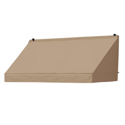 "Coolaroo Classic Awning Replacement Cover - Color: Sand, Size: 72"" W x 25"" D"