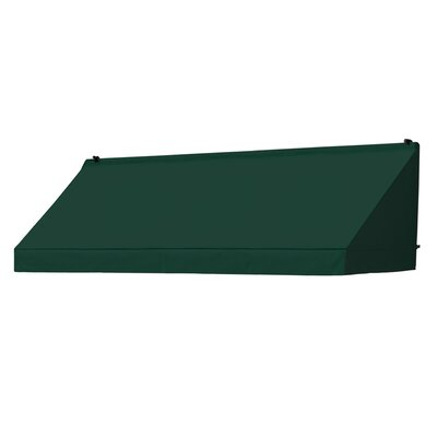 "Coolaroo Classic Awning Replacement Cover - Size: 96"" W x 25"" D, Color: Forest Green"
