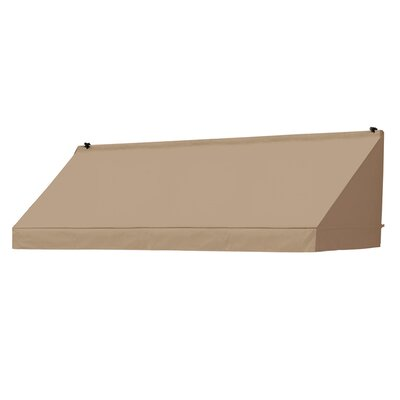 "Coolaroo Classic Awning Replacement Cover - Size: 96"" W x 25"" D, Color: Sand"