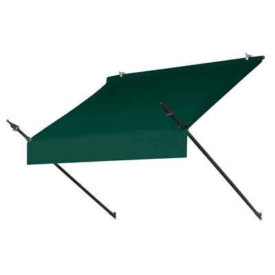 "Coolaroo Designer Awning Replacement Cover - Size: 48"" W x 25"" D, Color: Forest Green"