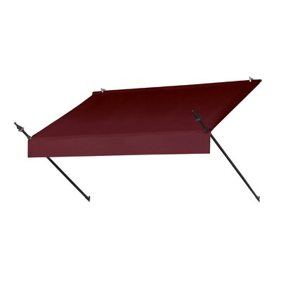 "Coolaroo Designer Awning Replacement Cover - Size: 72"" W x 25"" D, Color: Ebony"