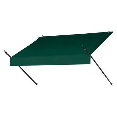 "Coolaroo Designer Awning Replacement Cover - Color: Forest Green, Size: 72"" W x 25"" D"