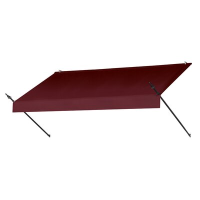 "Coolaroo Designer Awning Replacement Cover - Size: 96"" W x 25"" D, Color: Ebony"