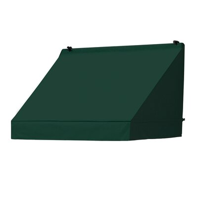 "Coolaroo Classic Awning Replacement Cover - Color: Forest Green, Size: 48"" W x 25"" D"