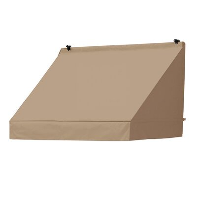 "Coolaroo Classic Awning Replacement Cover - Size: 48"" W x 25"" D, Color: Sand"