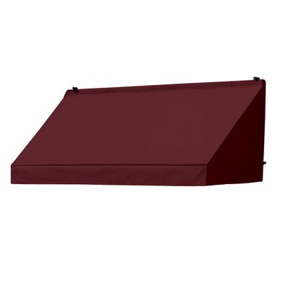 "Coolaroo Classic Awning Replacement Cover - Size: 72"" W x 25"" D, Color: Burgundy"