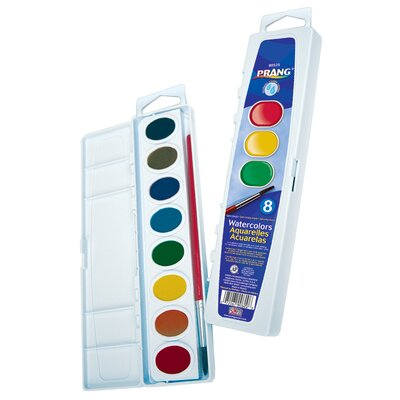 16 Color Washable Watercolors Set 16016