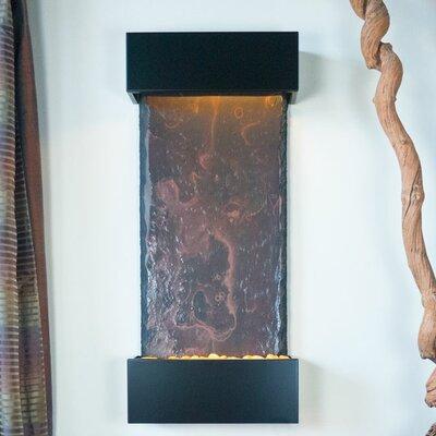 Bluworld Nojoqui Falls Metal/glass Water Wonders Fountain With Led Light