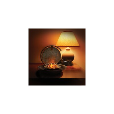 Image of Moonshadow Copper Table Top Fountain with Light