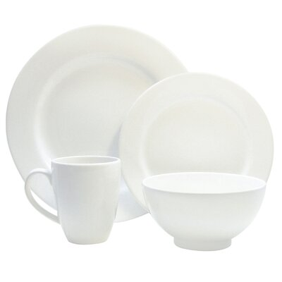 Fun Factory 4 Piece Place Setting Color: White 7704PC6020