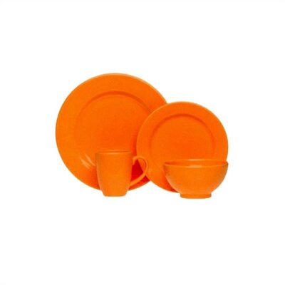 Orange Peel Dinnerware Collection-Charger Plate in Orange Peel
