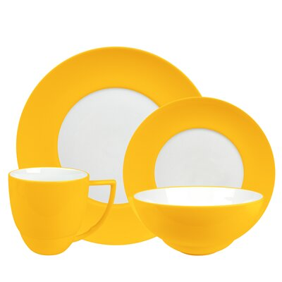 Uno 4 Piece Place Setting Color: Curry 4404PC0030