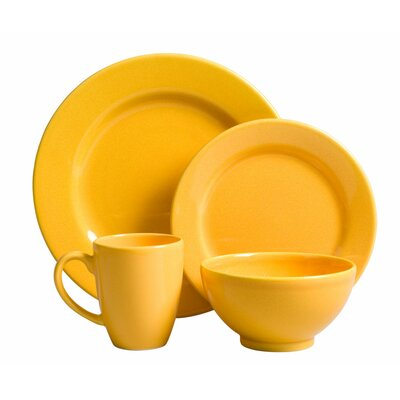 Fun Factory 4 Piece Place Setting Color: Buttercup