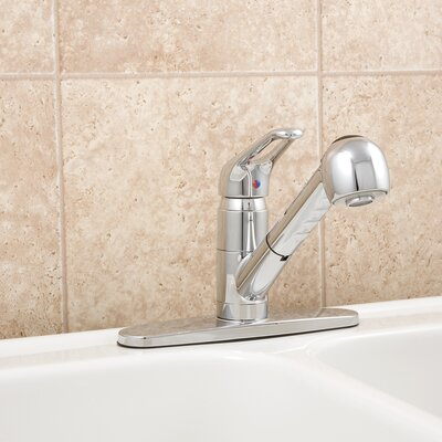 AquaLife Single Handle Deck Mounted Kitchen Faucet