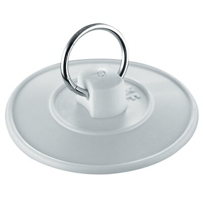 Basin Stopper With Ring Size: 4.4 H x 3.1 W x 0.8 D