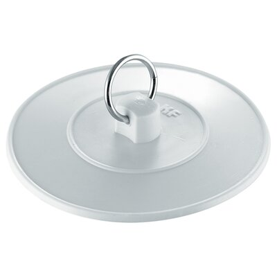 Basin Stopper With Ring Size: 5.8 H x 4.4 W x 0.6 D