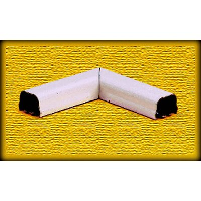 CordMate Flat Elbows Color: Ivory