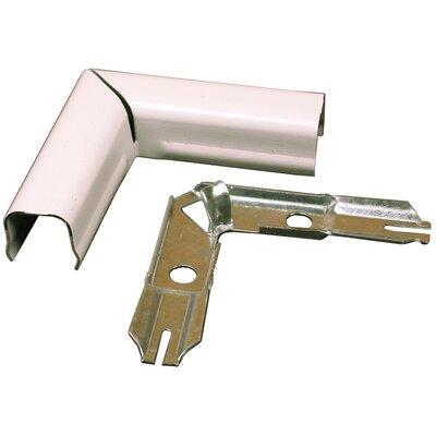 CordMate Flat Elbows Color: White