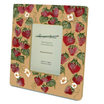 Home and Garden Strawberries Decorative Picture Frame 11015