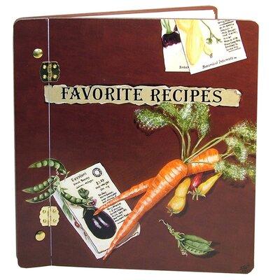 Home and Garden Favorite Veggies Recipe Book Photo Album