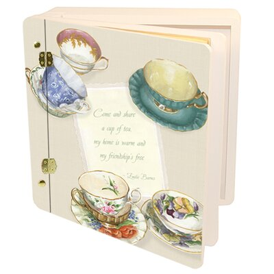 Home and Garden Tea Cups Memory Box 17040