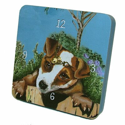 Jack Russell Tiny Times Clock