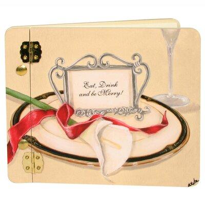 Wedding Table 4 Two Lilly Mini Wedding Book Photo Album