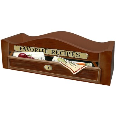 Favorite Recipes Caddy