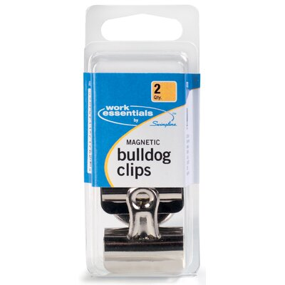 Magnetic Bulldog Clip (Set of 6)