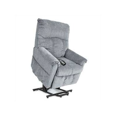 Pride Mobility LC-805 Specialty Collection Medium Lift Chair with Sewn Split Back - Fabric: Raspberry at Sears.com