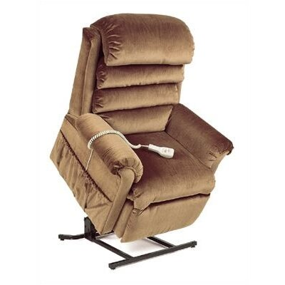 "Pride Mobility LC-570 Elegance Collection Medium Lift Chair with Pillow Back - Quick Ship - Fabric: Marine, Seat Width: Wide - 22"" at Sears.com"