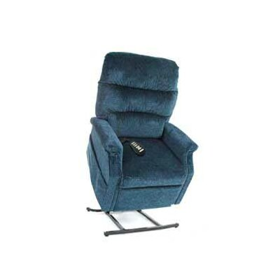 Pride Mobility Classic Medium 2 Position Lift Chair with Sewn Pillow Back - Fabric: Fabric - New Raspberry at Sears.com
