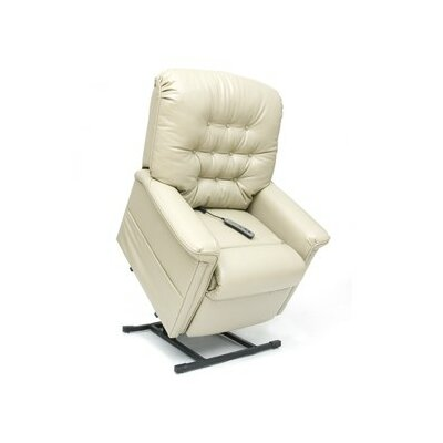 Pride Mobility Heritage Collection sm 3-Position Lift Chair w/ Button Back -Fabric:UltraLeather -Buff, Heat & Massage:Standard -Lower Lumbar Ar at Sears.com