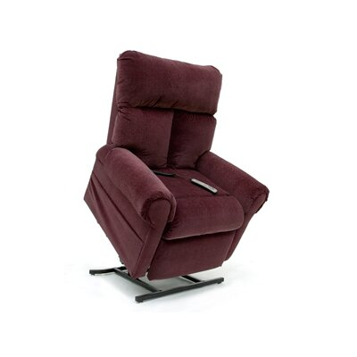 "Pride Mobility Elegance Collection Medium 3-Position Lift Chair with Split Back - Quick Ship - Fabric: Moss, Seat Width: Standard - 20"" at Sears.com"