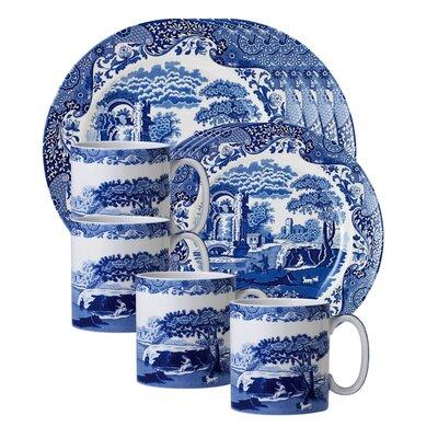 Blue Italian 12 Piece Dinnerware Set 4053736