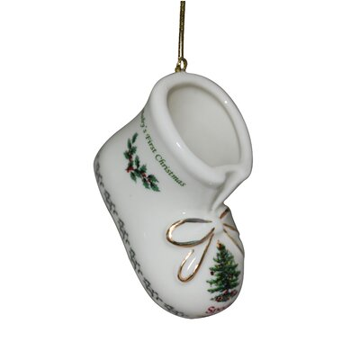 Christmas Tree Ornaments Baby's First Christmas Booties Annual 2015