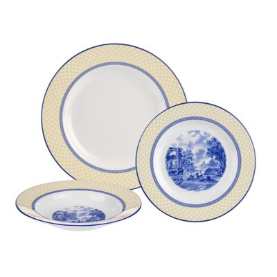 Giallo 3 Piece Place Setting, Service for 1 1617155