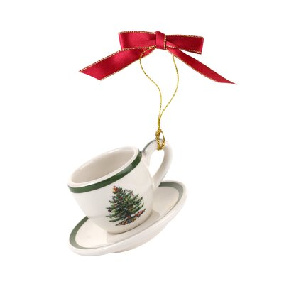 Cup and Saucer Shaped Ornament 4009726