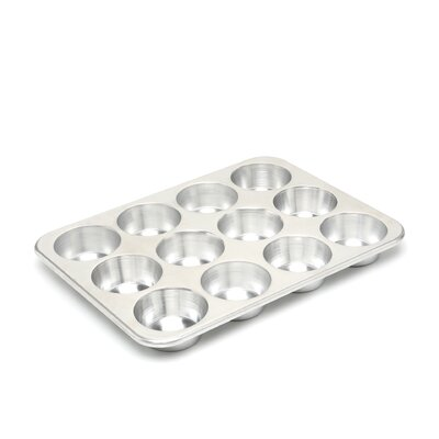 Nordic Ware Natural Commercial 12 Cup Muffin Pan 45500