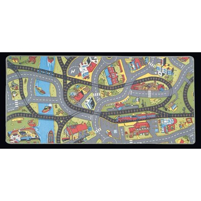 Ride the Train Kids Rug LC142