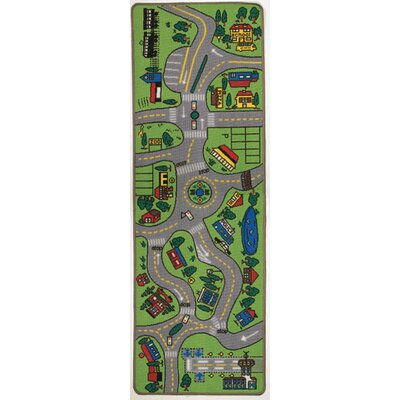 Giant Road Indoor/Outdoor Area Rug Rug Size: Runner 23 x 68