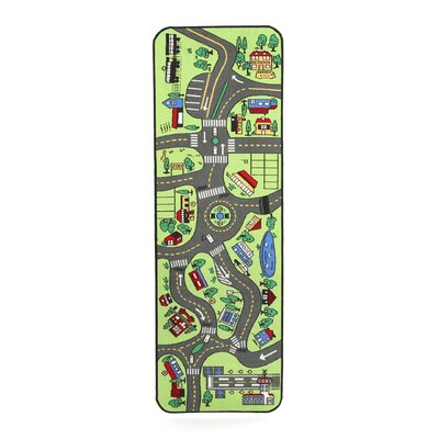 Giant Road Play Indoor/Outdoor Area Rug Rug Size: Runner 24 x 68